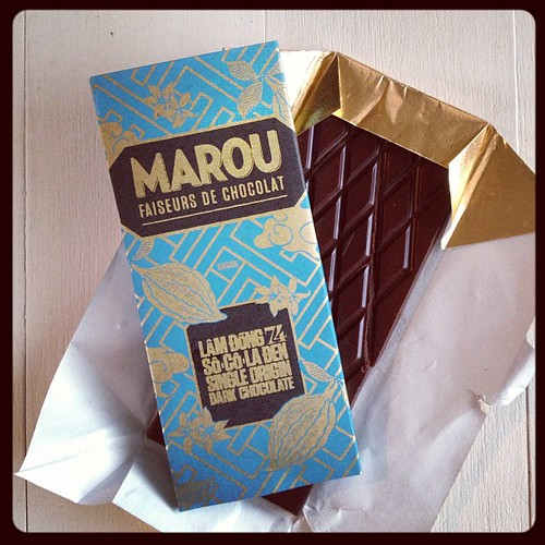 #octfoodphotos 31 | you can keep your #trickortreat chocolates... loving this #marou single origin from my @bao_town goodie bag!