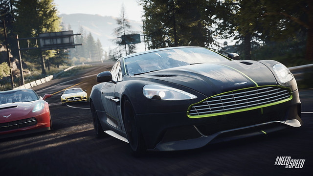 Need for Speed Rivals Aston-Vanquish