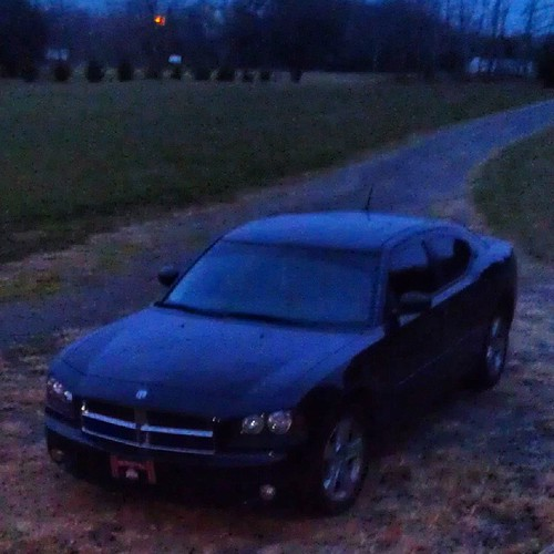 My baby!  #chickswithchargers  #dodgecharger