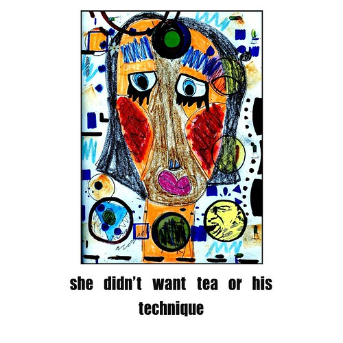 she didn't want tea by Donna Kuhn