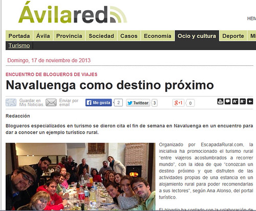 Noticia en Avilared