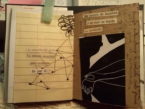 """""""Me voy"""" minilibro by Helena González Sáez"""
