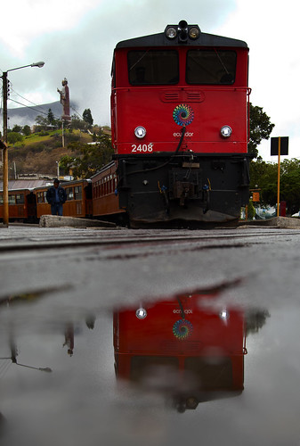 The only train in Ecuador