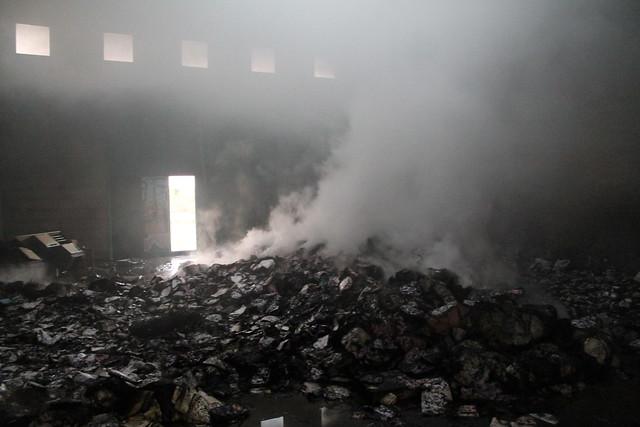 incendio polignano mercato ortofrutticolo