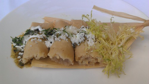 Goat Cheese Tamale