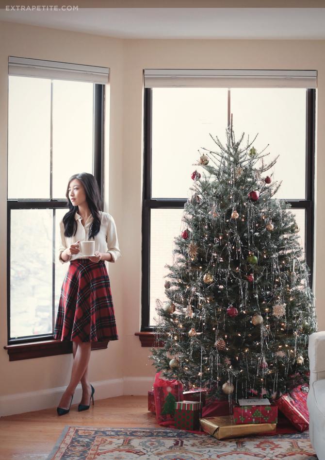 christmas skirt1