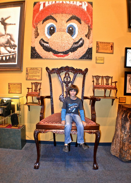 Ripley's Believe It or Not Orlando - Largest Chair in the World