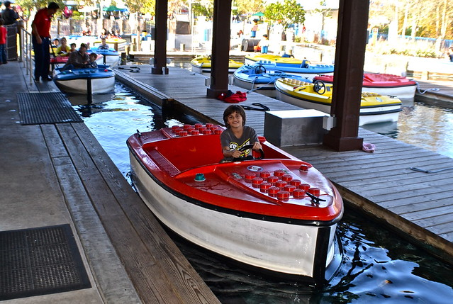 Legoland, Florida - Boating lessons