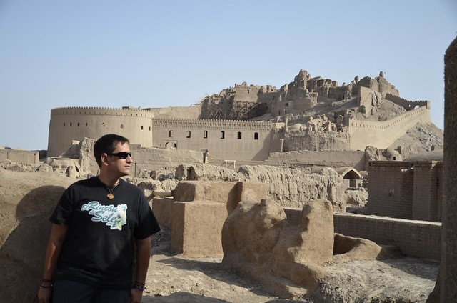 Foto de Sele en Bam (Irán) 10 años después del terremoto