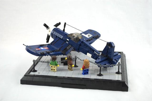 F-4U Corsair Museum Diorama