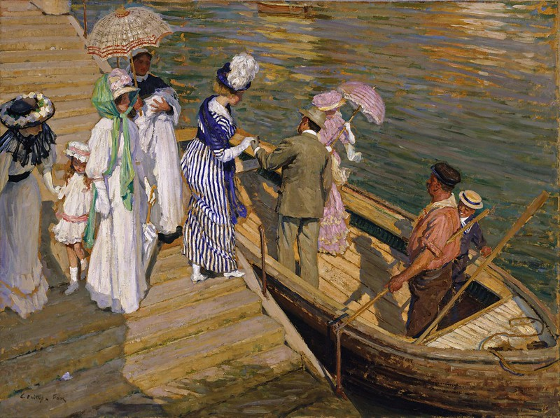 Emanuel Phillips Fox - The ferry (c.1910)
