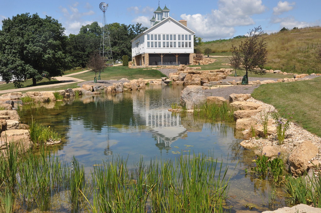 Water features for 1 acre pond design