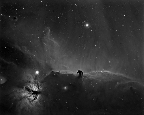 Horsehead Nebula - Reprocess by Mick Hyde