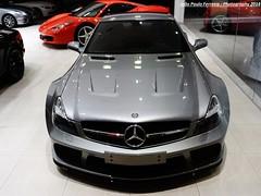 Mais um esportivo em Goiânia: Mercedes SL 65 AMG Black Series