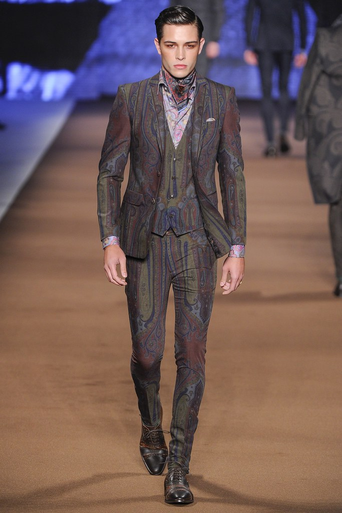 FW14 Milan Etro028_Francisco Lachowski(VOGUE)