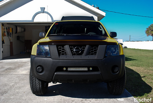 Led Bar In Grill Mouth Second Generation Nissan Xterra