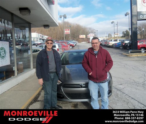 Happy Anniversary to Catherine Lee Elliott on your 2013 #Dodge #Dart from Ronald Mcclelland  and everyone at Monroeville Dodge! #Anniversary by Monroeville Dodge