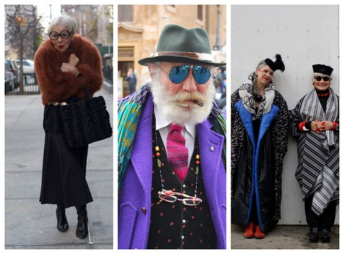 BILL CUNNINGHAM for The Cut / New York Mag / INSPIRATION