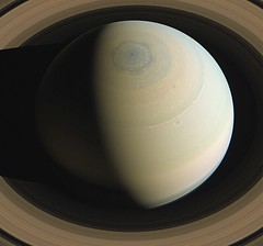 Saturn within the rings