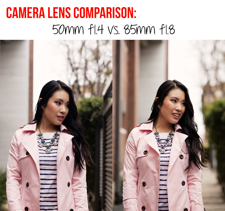 cute & little blog | photography series | canon camera lens comparison 50mm f1.4 vs. 85mm f1.8