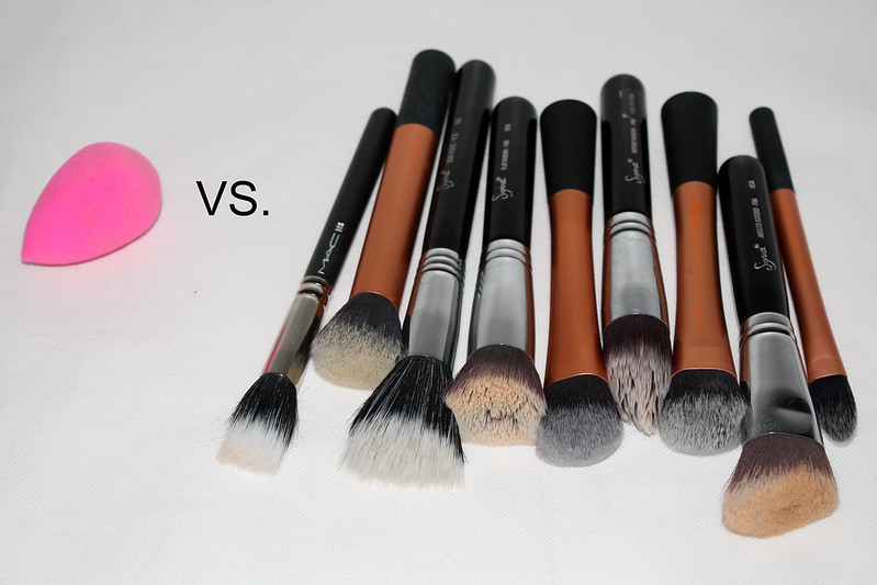 Beauty Blender VS Foundation Brush