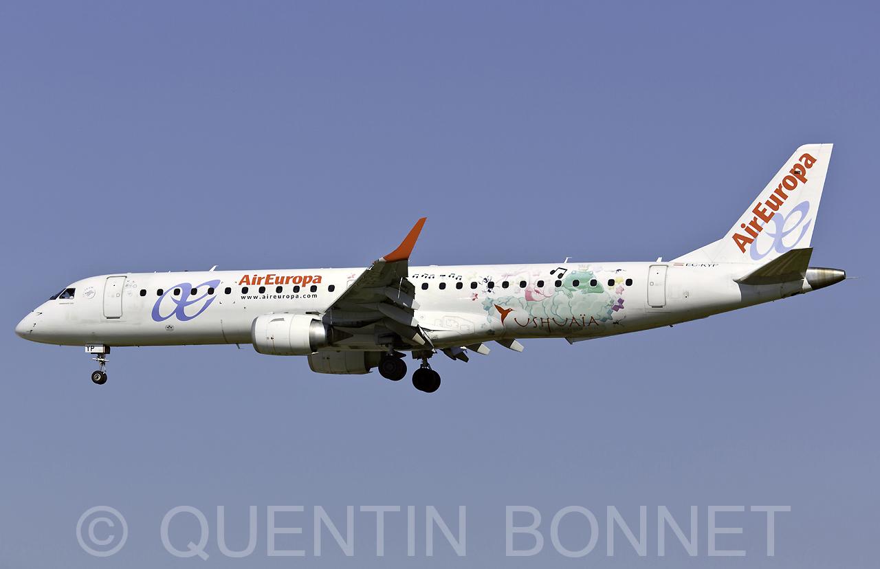 Air Europa Embraer ERJ-195LR (ERJ-190-200 LR) EC-KYP