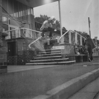 Nick Rodbourne - Ollie at Riverside in High Wycombe - Lubitel 2 - 120 Ilford 3200