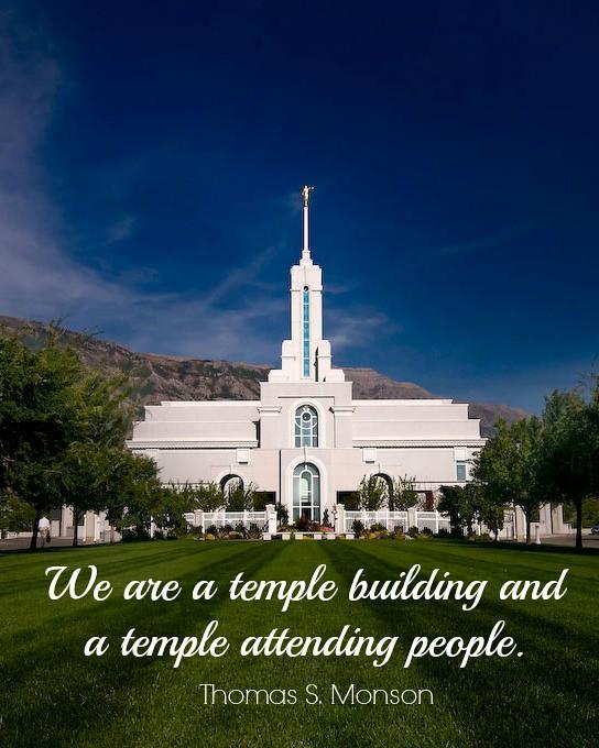 Thomas Monson Temples