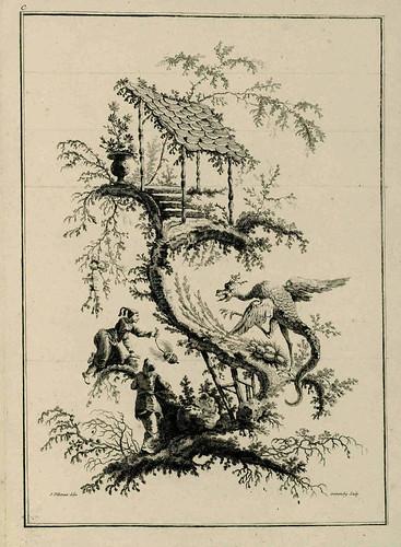 013-Serie de juegos chinos-Oeuvre gravé de Jean Pillement..1767-Vol 3- INHA