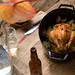 Crema berenjena, pollo y manzanas al horno con Es de Mercado by Ivana Rosario ·