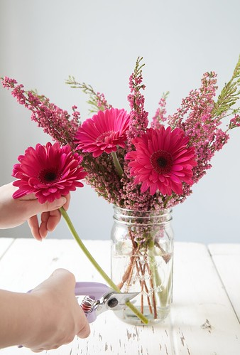 Freshdirect diy spring flower arrangements for mothers day flowers within the same color family with different textures really work well together monochromatics brighten up a room without looking mismatched mightylinksfo