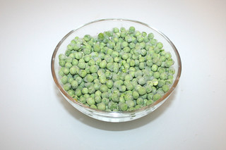 05 - Zutat Erbsen / Ingredient peas
