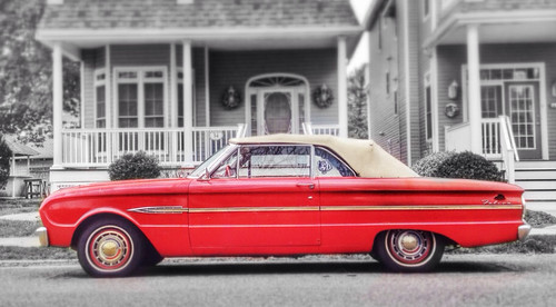Fine and fit Ford Falcon found in OC NJ (4.17.14).