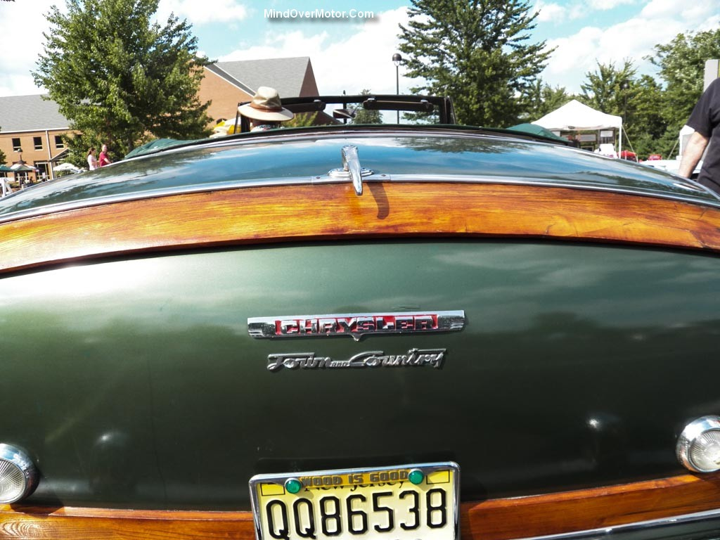 Chrysler TC Convertible Rear Panel