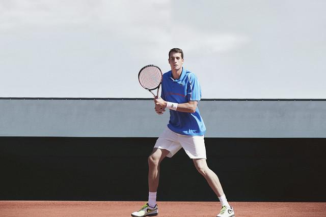 009 LACOSTE John Isner Tenue Roland Garros 2014 © CBerlet