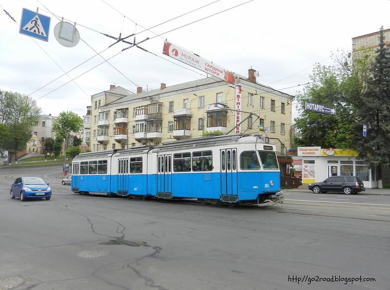 Цюрихские трамваи Винницы