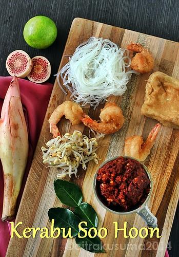 Ingredients Malaysian Kerabu Soo Hoon