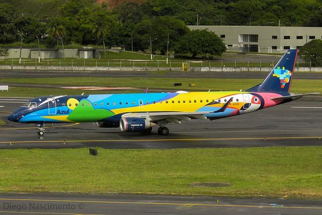 PR-AXH AZUL Linhas Aéreas Brasileiras Embraer ERJ-195 - cn 19000569