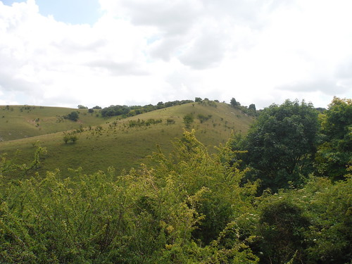 Views back up the Pegsdon Hills