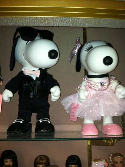 Snoopy and Belle