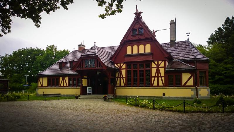 Kaiserbahnhof in Joachimsthal