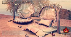 Trompe Loeil - Nerissa Seashell Bed and Bath for Collabor88 July