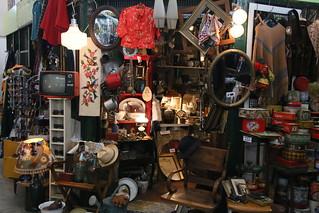 Antiques Market.  Buenos Aires,