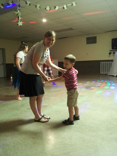 Dancing with Caleb
