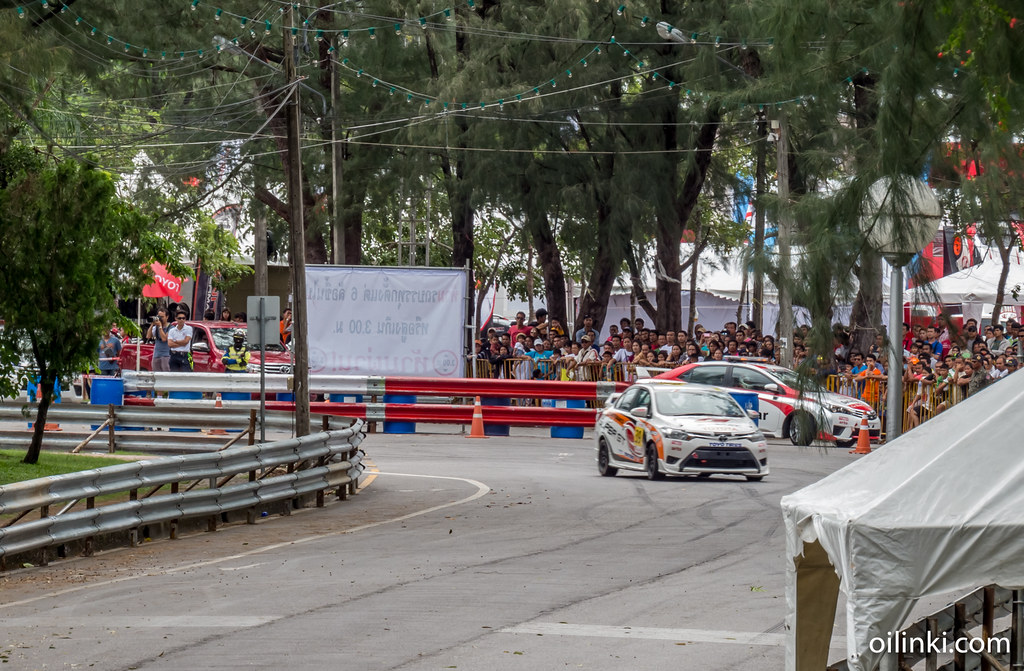 Phuket race, fail, safety barrier.