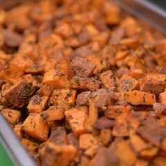 #seasonedsweetpotatoes #healthyflavours #complexcarbs #mealprep #homedelivery