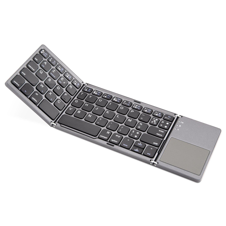 bon plan un clavier bluetooth pliable avec pav tactile. Black Bedroom Furniture Sets. Home Design Ideas