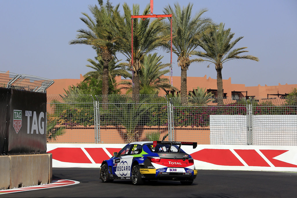 27 FILIPPI John (fra) Citroën C-Elysée team Sébastien Loeb Racing action during the 2017 FIA WTCC World Touring Car Race of Morocco at Marrakech, from April 7 to 9 - Photo Paulo Maria / DPPI
