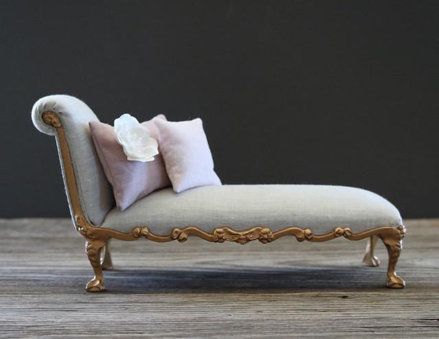 Custom OOAK chaise