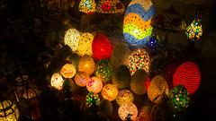 The lamps of Khan El-Khalili's Bab El-Ghuri
